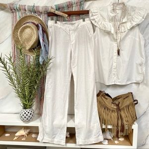 🍂LINEN blend BOHO summer pants - super breezy